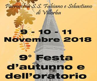 VILLORBA 9ª FESTA D'AUTUNNO E DELL'ORATORIO