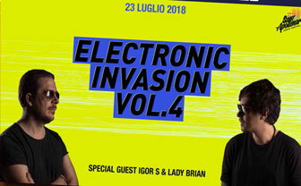 ELECTRONIC INVASION VOL.4 IGOR'S & LADY BRIAN
