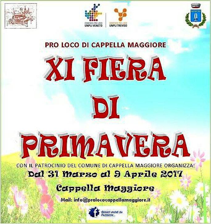 Cappella maggiore fiera di primavera e vespa raduno delle for Fiera monaco marzo 2017