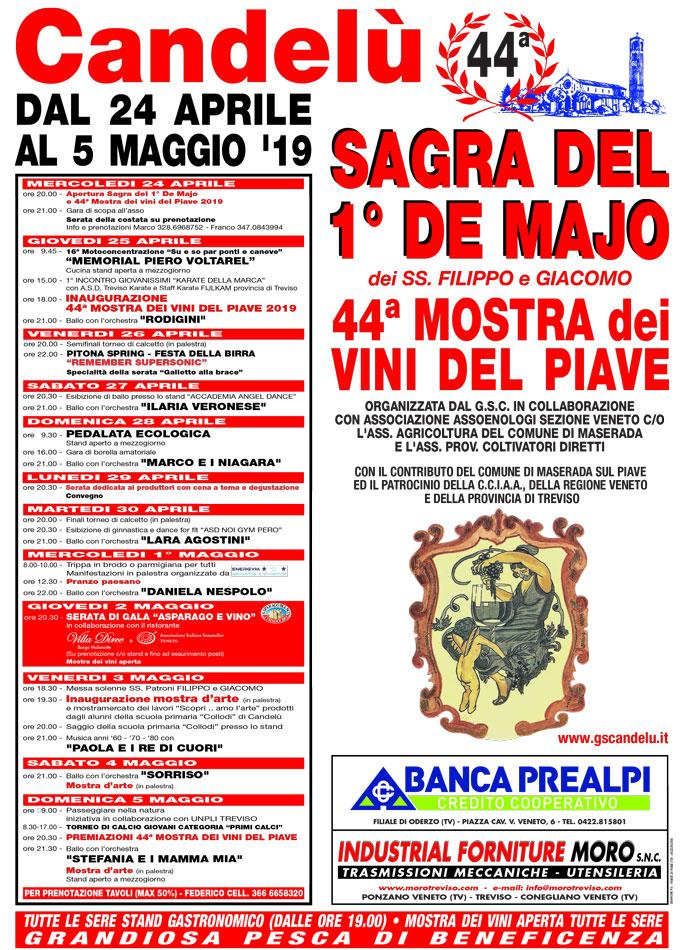 I Rodigini Calendario.Maserada Sul Piave Candelu 44ª Mostra Dei Vini Del Piave E