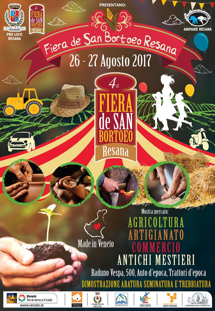 Resana fiera de san bortoeo mostra mercato agricoltura for Mostre veneto 2017