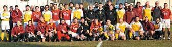 partita di calcio a falzè di piave roma vaticano