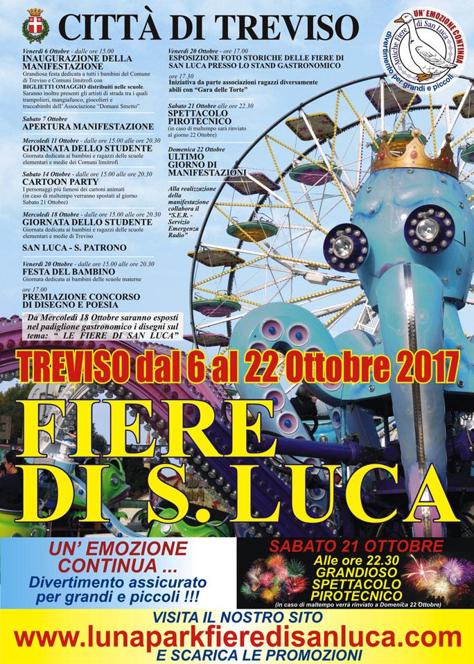 Treviso luna park antiche fiere di san luca dal 06 ottobre - Fiere casa 2017 ...