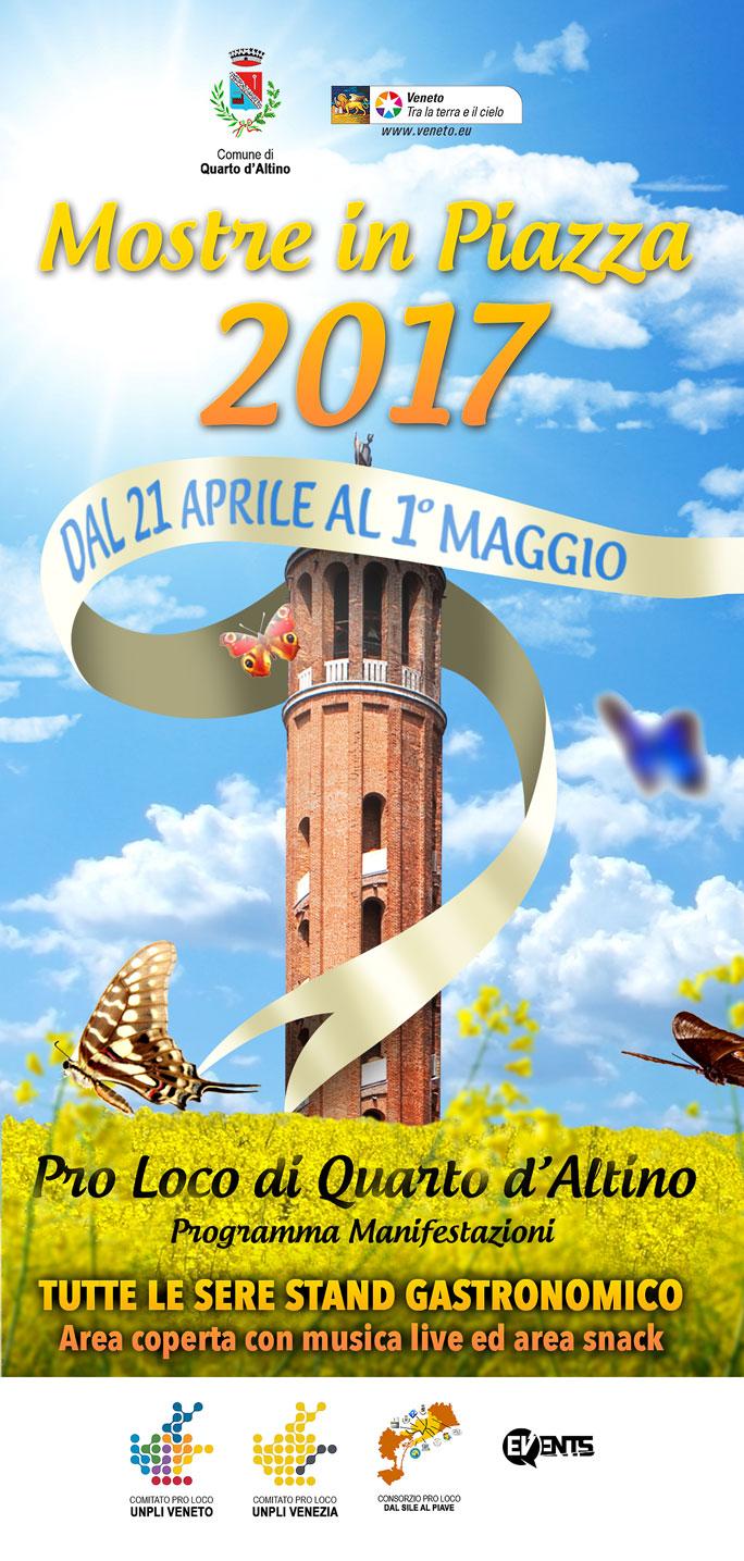 Venezia quarto d 39 altino mostre in piazza dal 21 aprile al for Mostre veneto 2017