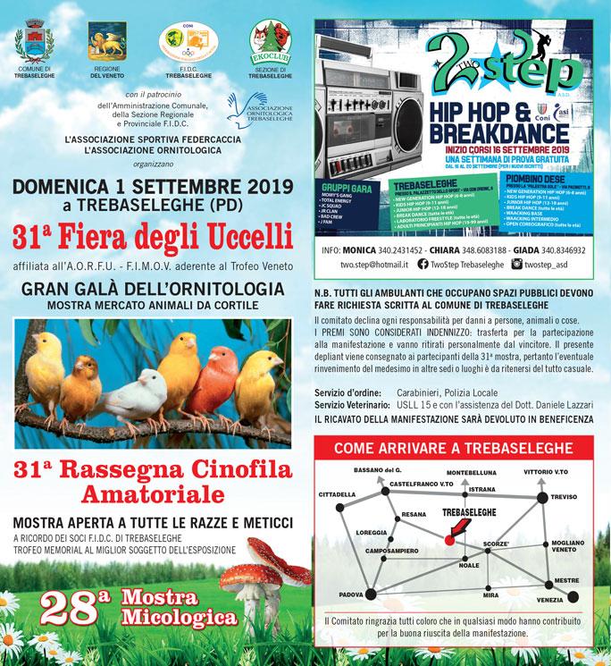 Calendario Fiere Ornitologiche.31ª Fiera Degli Uccelli 31ª Rassegna Cinofila 28ª Mostra