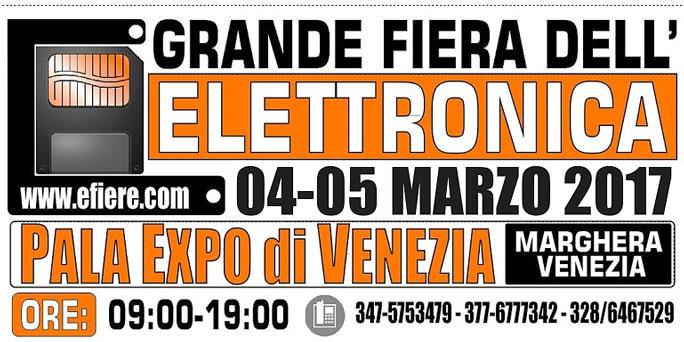 Venezia marghera fiera dell 39 elettronica e del radioamatore for Fiera monaco marzo 2017