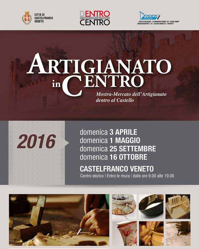 Castelfranco veneto artigianato in centro mostra mercato - Mercatini in veneto ...
