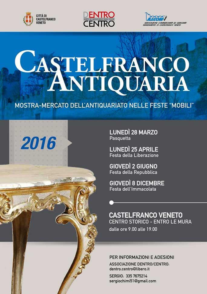 Castelfranco veneto castelfranco antiquaria mostra mercato dell 39 antiquarito mercatini dell - Centro mobili veneto ...