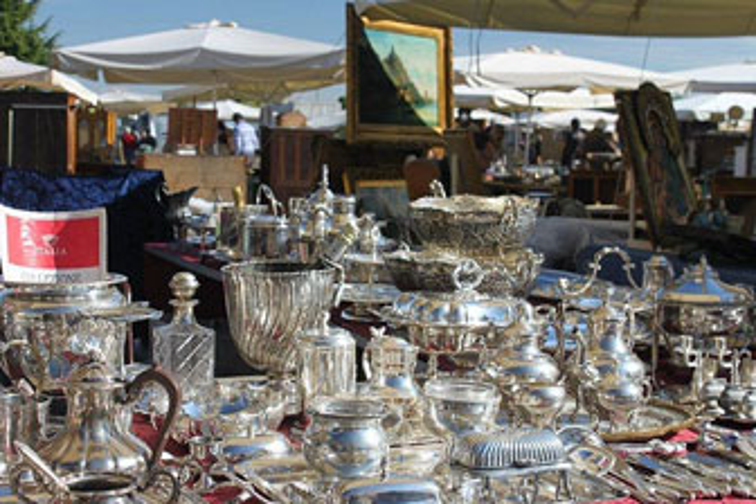 mercatino dell'antiquariato godega di sant'urbano argenteria