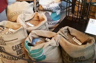 conegliano museo del caffè dersut sacchi di caffè