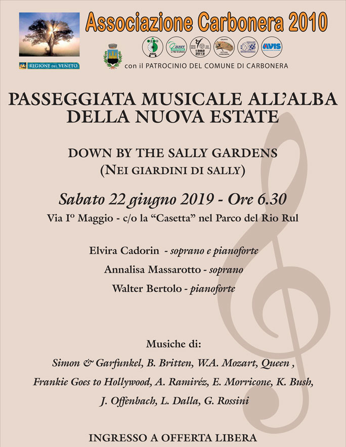 2019 CARBONERA BIBAN CONCERTO DI ESTATE