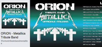 ORION - METALLICA COVER BAND