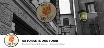 TREVISO RISTORANTE DUE TORRI