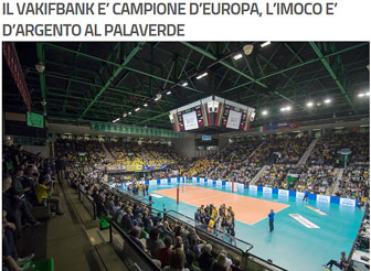 2017 TREVISO VOLLEY CHAMPIONS LEAGUE