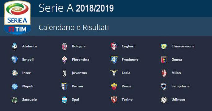 Udinese Calcio Calendario.2019 Calcio Campionato Serie A Chievo Udinese Calcio