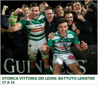 rugby pro 14 LEINSTER - TREVISO