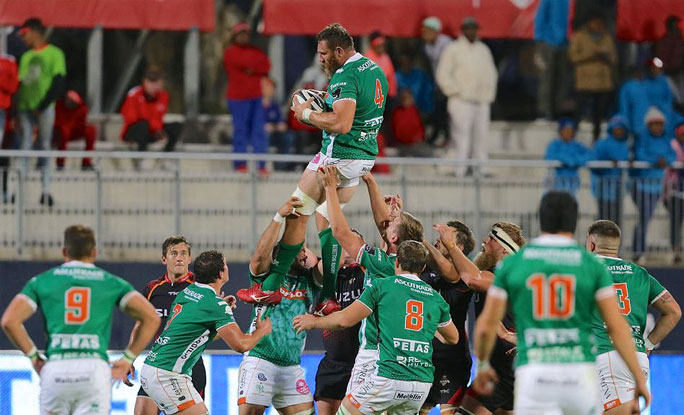 rugby treviso benetton 2019 touche