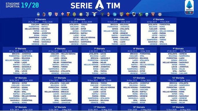 Calendario Pordenone Calcio.2019 2020 Calcio Campionato Serie A E Serie B Calendario