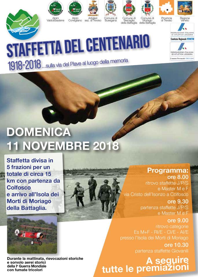 Calendario Podistico Veneto.Corse Podistiche Moriago Della Battaglia Staffetta Del