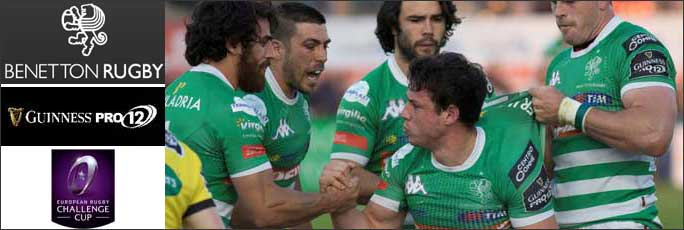 2017 TREVISO BENETTON RUGBY