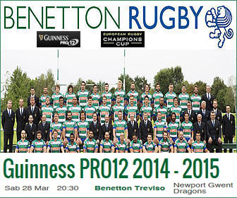 BENETTON RUGBY TREVISO 2014 2015