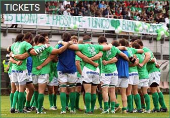 RUGBY BENETTON TREVISO tickets