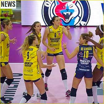 VOLLEY CONEGLIANO IMOCO news 2016