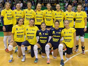 VOLLEY CONEGLIANO IMOCO team 2016
